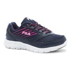 Children's Fila Proze Running Shoe Fila Navy/Wheat/Knockout Pink
