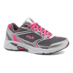 Women's Fila Xtent 2 Running Shoe Dark Silver/Metallic Silver/Knockout Pink