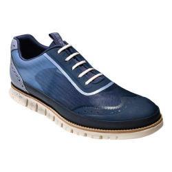 Men's Cole Haan ZeroGrand Mesh Sport Oxford Cornwall Blue