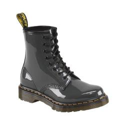 Women's Dr. Martens 1460 8-Eye Boot Patent Grey Patent Lamper