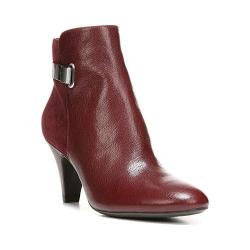 Women's Naturalizer Blake Ankle Boot Classic Cordovan Fellini Leather/Burgundy Suede