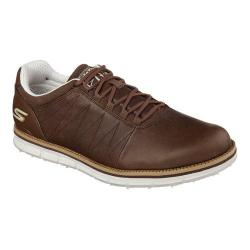 Men's Skechers GO GOLF Elite Lace Up Brown