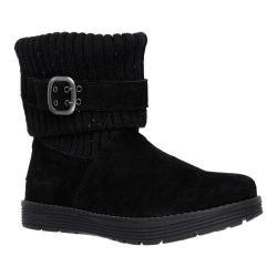 Women's Skechers Adorbs Sweater Boot Black