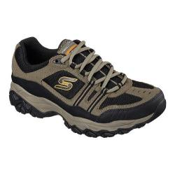Men's Skechers After Burn Memory Fit Strike Off Sneaker Pebble/Black