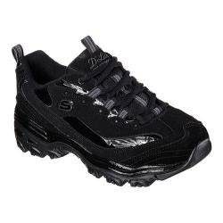 Women's Skechers D'Lites Sneaker Black