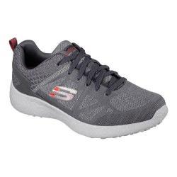 Men's Skechers Energy Burst Deal Closer Training Shoe Charcoal/Red