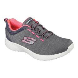 Women's Skechers Energy Burst Equinox Bungee Lace Shoe Charcoal/Coral