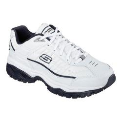 Men's Skechers Energy Shook Up Sneaker White/Navy