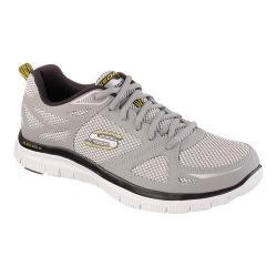 Men's Skechers Flex Advantage First Team Training Shoe Light Gray/Black