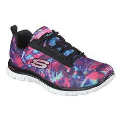 Women's Skechers Flex Appeal Training Sneaker Cosmic Rays/Black/Multi