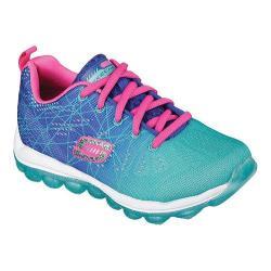 Girls' Skechers Skech Air Laser Lite Sneaker Blue/Aqua