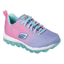 Girls' Skechers Skech Air Laser Lite Sneaker Periwinkle/Pink/Aqua