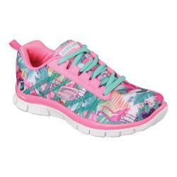 Girls' Skechers Skech Appeal Floral Bloom Sneaker Pink/Multi