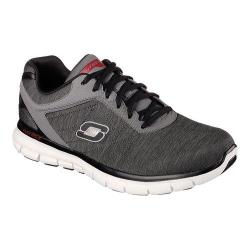 Men's Skechers Synergy Instant Reaction Charcoal/Red