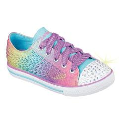 Girls' Skechers Twinkle Toes Chit Chat Electro Spark Sneaker Multi