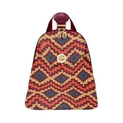 Women's baggallini CAI865 Gold Cairo Backpack Aztec Berry