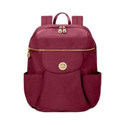Women's baggallini CTW866 Gold Capetown Backpack Berry