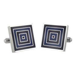Men's West Coast Jewelry WCJ-CL86 Stainless Steel/Blue/Black