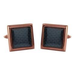 Men's West Coast Jewelry WCJ-CL97 Stainless Steel/Coffee