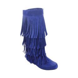 Women's Westbuitti Mudd-55 Fringe Boot Blue