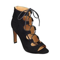 Women's Nine West Unfrgetabl Lace Up Sandal Black Suede