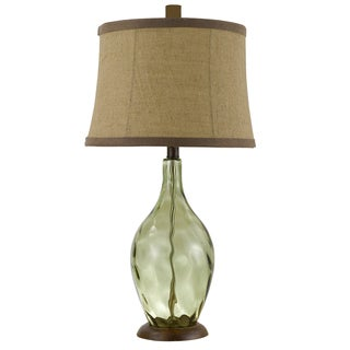 Divino Hand-blown Wine Bottle Table Lamp