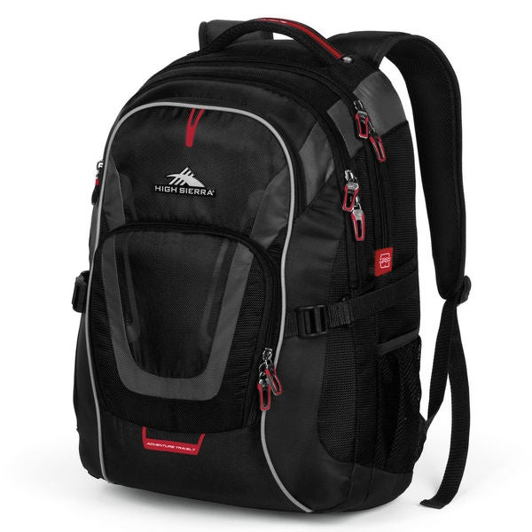 High Sierra AT7 Computer Backpack Black