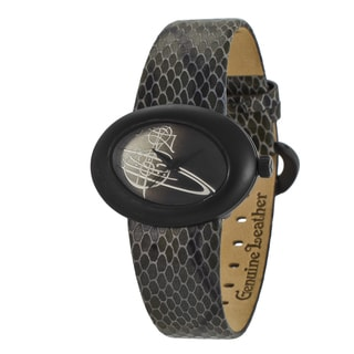 Vivienne Westwood Women's VV014CHBK Ellipse Black Watch