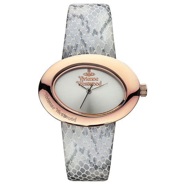 Vivienne Westwood Women's VV014SLGY Ellipse Grey Watch