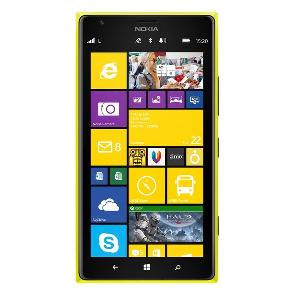 Nokia Lumia 1520 16GB Unlocked GSM Yellow Windows Phone