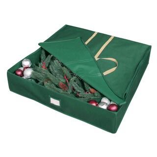 Holiday Green Wreath Bag