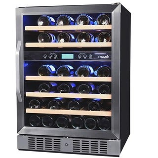 NewAir 46 Bottle Dual Zone Wine Cooler