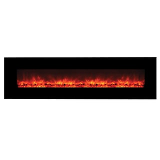 Yosemite Home Decor DF-EFP1313 Wall Mount Electric Fireplace with Remote Control