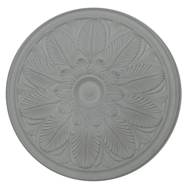 23-inch Round Flower Ceiling Medallion