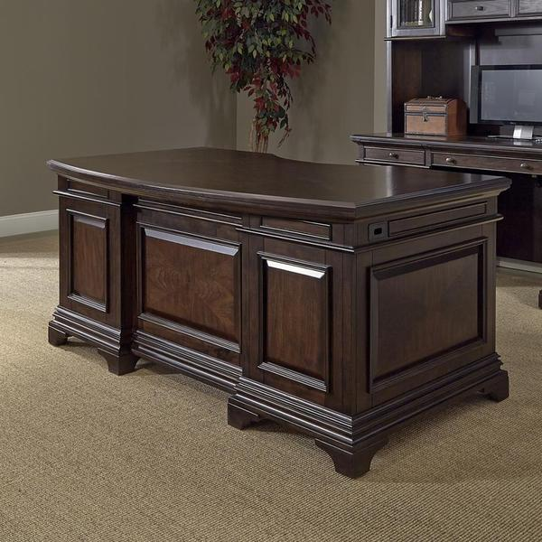 Drake 72-inch Executive Desk - 16685443 - Overstock.com Shopping - The