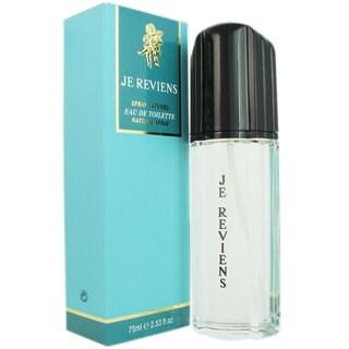 Worth Je Reviens Women's 2.53-ounce Eau de Toilette Spray