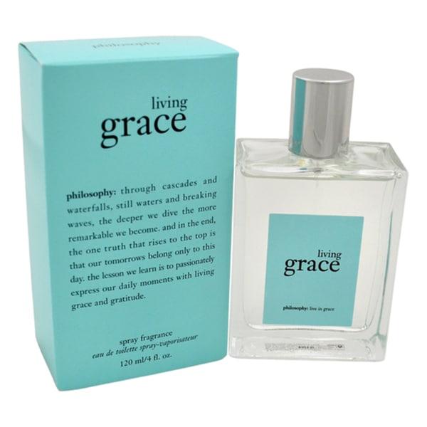 Philosophy Living Grace Women's 4-ounce Eau de Toilette Spray