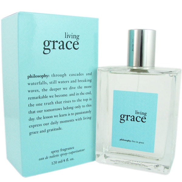 Philosophy Living Grace Women's 4-ounce Eau de Toilette Spray
