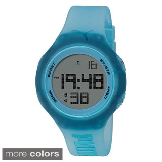 Puma Color Stainless Steel Loop Transparent Watch