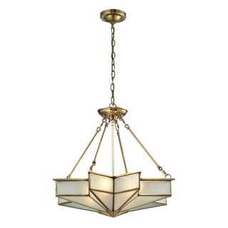 Elk Lighting Decostar 4-light Brass Pendant