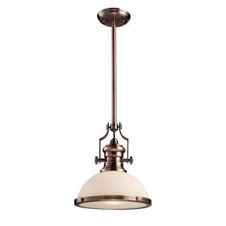Elk Lighting Chadwick 1-light Antique Copper Hanging Light