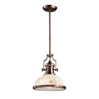 Elk Lighting Chadwick Antique Copper 1-light Pendant