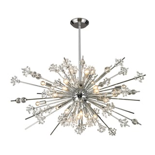 Elk Lighting Starburst 29-light Polished Chrome Chandelier