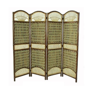 D-Art Seagrass Bamboo and Banana Leaf Room Divider (Indonesia)