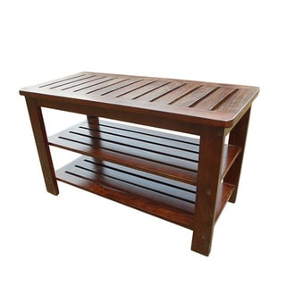 D-Art Michaela Mahogany Wood Side Table (Indonesia)