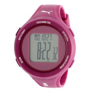 Puma Women's PU911042003 Step Purple Pedometer Watch