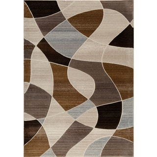 Christopher Knight Home Providence Terrain Distorted Plaid Multi Area Rug (5' x 7'6)
