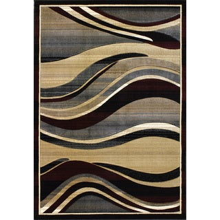 Christopher Knight Home Pinnacle Summit Black Area Rug (7'10 x 9'10)