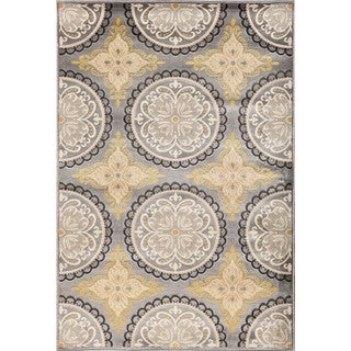 Christopher Knight Home Paris Citron Pena Silver Area Rug (7'10 x 9'10)