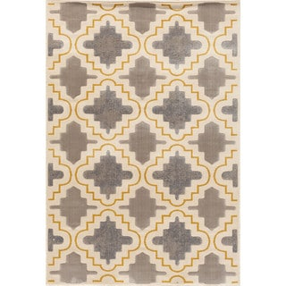 Christopher Knight Home Paris Citron Fillmore Pearl Area Rug (7'10 x 9'10)